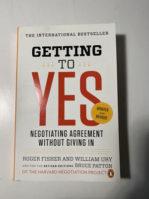 Getting to Yes for Sale in Boston, MA