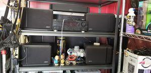 JVC receiver 600 watt and Bose speakers for Sale in Bakersfield, CA