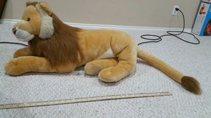 Plush lion stuffed animal 40 inches for Sale in Round Rock, TX