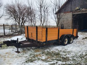 Big tex 2 axle trailer for Sale in Hanover Park, IL