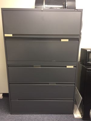 5 Drawer File Cabinet for Sale in Washington, DC