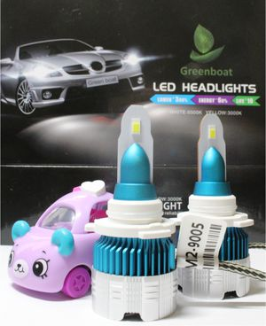 Super Bright White LED headlight Solutions 60Watts 6000lms Pure White lights output for Sale in Baldwin Park, CA