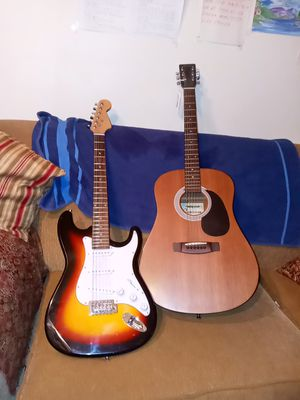 Guitar 120 for both. for Sale in Dallas, TX