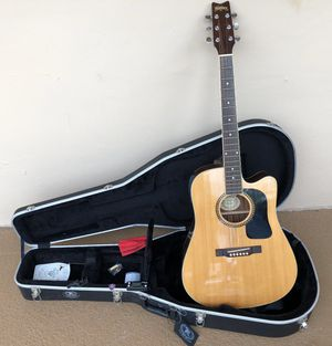 Washburn electric acoustic guitar for Sale in Lake Worth, FL