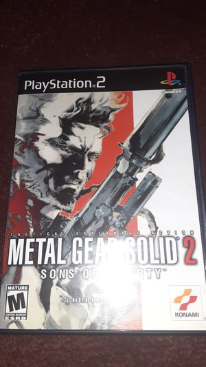 Metal Gear Solid 2: Sons Of Liberty for Sale in Long Beach, CA