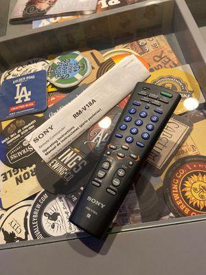 Sony Remote Commander, Universal Remote for Sale in Covina, CA