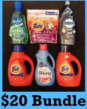 Tide downy dawn crest mouthwash $20 Bundle for Sale in Los Angeles, CA