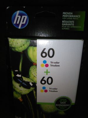 HP 60 Ink Cartridges Twin-Pack CZ072FN for Sale in Chilhowie, VA
