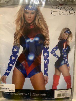 Women Captain America Custome for Sale in Sherborn, MA