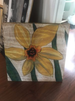 Chalk art on wood for Sale in Canonsburg, PA