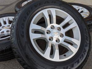 Chevy Silverado Tahoe 1500 Wheels 265 65 18 Tires P265 65R18 Rims for Sale in Matthews, NC