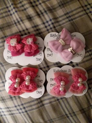 Set of 4 hairclip packs for Sale in Lakeland, FL