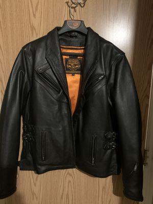 Milwaukee Leather Motorcycle Jacket for Sale in West Jordan, UT