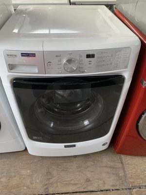 Maytag Front load washing machine with 3 months warranty freedelivery and installation for Sale in Oakland, CA