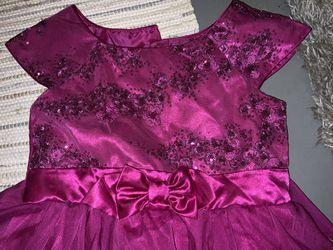 Size 12 Jana Michelle Girls Pink/ Fuchsia Dress for Sale in Gresham,  OR