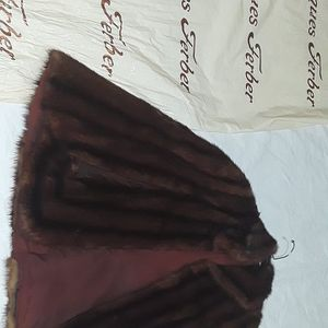 Brown mink shawl for Sale in Philadelphia, PA