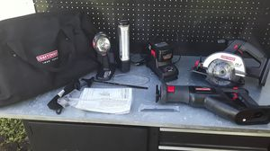 19.2 VOLT CRAFTSMAN POWER TOOL KIT WITH BAG for Sale in Tamarac, FL