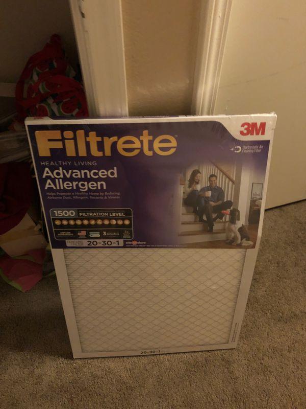 3m Air Filter 20x30