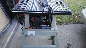 Table saw delta for Sale in Carrollton, TX