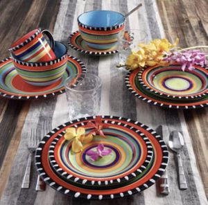 "Spring 16 pc. Hand Painted Dinnerware Set- ""New "" SUPER SALE( Firm Price) for Sale in Los Angeles, CA"