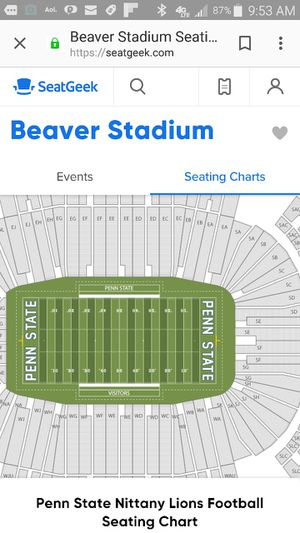 I NEED 2 OHIO STATE PENN STATE TICKETS for Sale in State College, PA