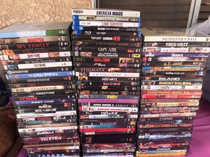 DVD's total 102 perfect condition. Top movies. Selling all $70 for Sale in Vernon, CA