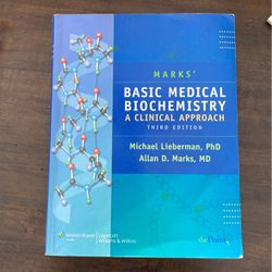 Mark's Basic Medical Biochemistry, A Clinical Approach for Sale in Mentor,  OH
