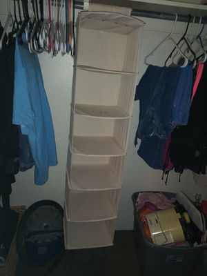 White closet organizer for Sale in Aurora, CO