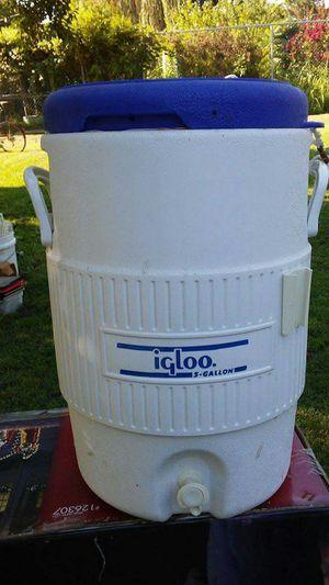 5 gallon Igloo Water Cooler for Sale in Dewey, OK