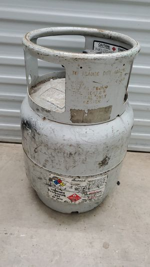 Forklift tank with gauge Always know how much you have in the tank for Sale in Lake Worth, FL