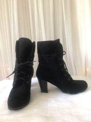 Black reversible Heel Boots Size 11 for Sale in Loganville, GA