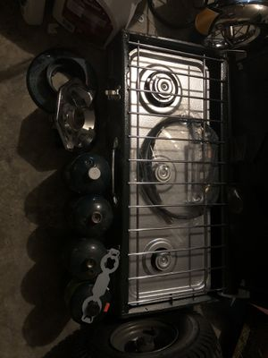 Coleman Camp Fire Stove for Sale in Kansas City, MO