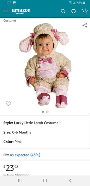 Little lamb Halloween costume 6-12 months for Sale in Santa Ana, CA