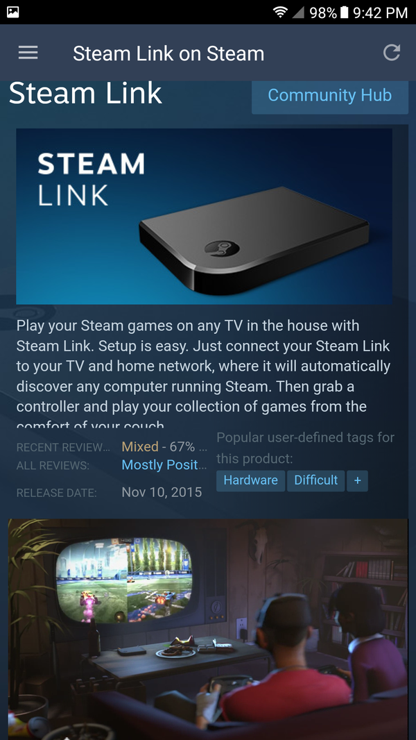 Steam link with Steam controller for Sale in Ontario, CA - OfferUp