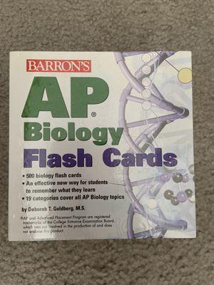 AP Biology Flashcards for Sale in Hercules, CA