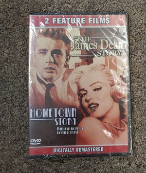 New DVD The James Dean Story & Hometown Story for Sale in Glen Raven, NC