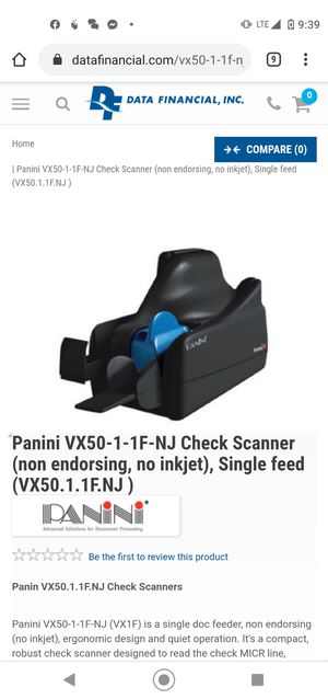 Check scanner for Sale in San Diego, CA