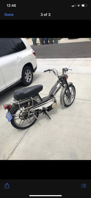 motobecane mobylette v50 for Sale in Huntington Beach, CA