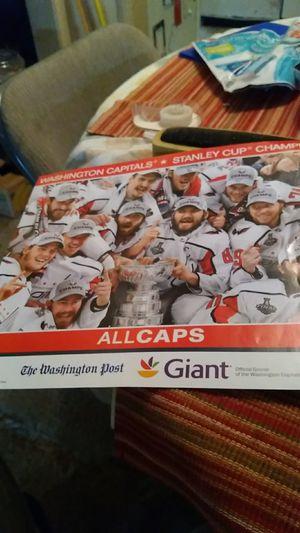 Hockey poster for Sale in Hyattsville, MD