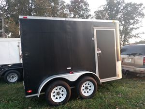 6x12 enclosed trailer price is firm for Sale in Rossville, GA