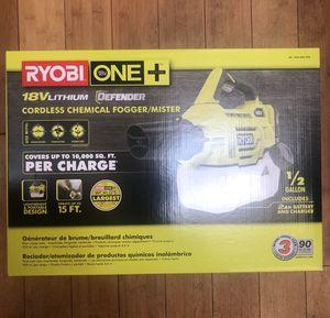 Ryobi fogger box for Sale in Queens, NY