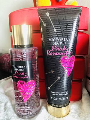 Brand New NEVER OPEN Victoria's Secret Set Set Of Victoria's Secret DARK ROMANTIC FRAGRANCE BODY MIST/ LOTION 8.4/8.Oz. for Sale in Fort Lauderdale, FL