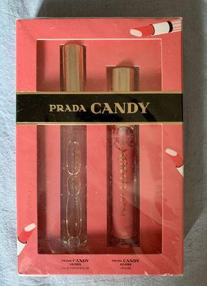 Prada Candy GLOSS, Roll on Eau De Parfum and Lip Gloss for Sale in Brooklyn, NY