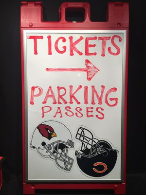 Arizona Cardinals VS Chicago Bears Tickets &a Parking Passes NEAR STADIUM for Sale in Scottsdale, AZ