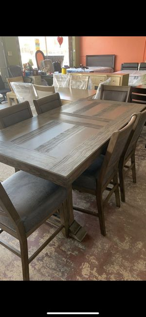 Solid dining/kitchen table with 6 chairs for Sale in Nashville, TN