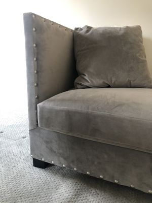 George our Grey Velour Sofa/ Day Bed for Sale in Nashville, TN