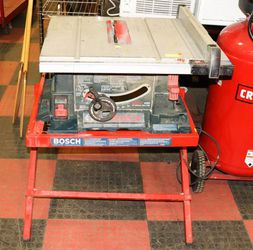"""Bosch 4000 - 10"""" Table Saw on Model TS-1000 Folding Stand   for Sale in Las Vegas, NV"""