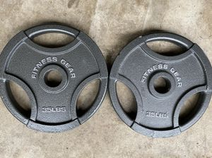 35 lb Olympic Weight Plates for Sale in Fairfax Station, VA