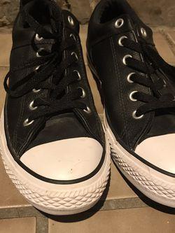 Leather Converse for Sale in Edmond,  OK