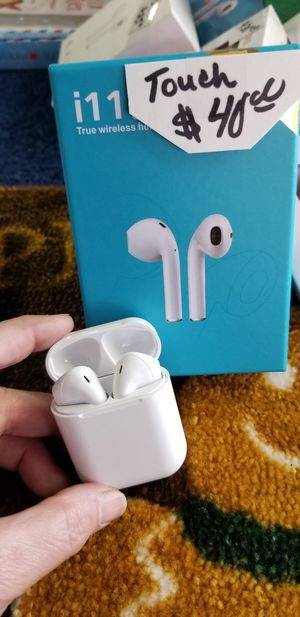 Air pod style bluetooth earbuds Touch technology for Sale in Tampa, FL